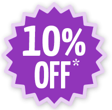 10 percent off with email