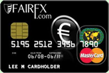 FairFX Currency card
