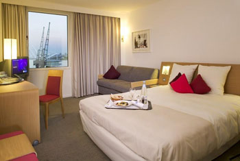 Stay a night at London City airport hotels