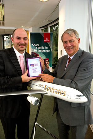 Emirates sweep the board for airline awards