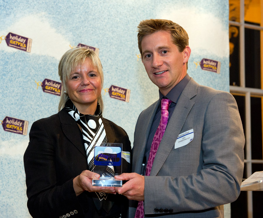 Gatwick Sofitel wins the Best Airport Hotel category at the HolidayExtras.com Awards.