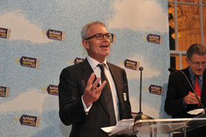 Steve Lawrence Chairman at the awards