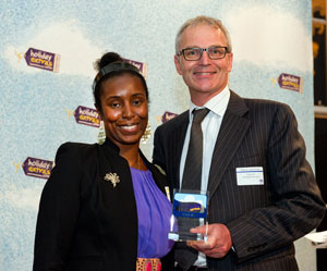 Virgin Atlantic wins the Best Airline For Travellers With A Disability category at the HolidayExtras.com Awards