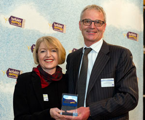 Virgin Atlantic wins the Best Airline For Travelling With Babies category at the HolidayExtras.com Awards