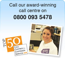 FREE award winning call centre