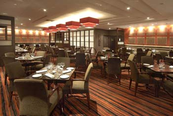 gatwick crown plaza food