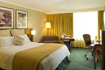 A room at the Crowne Plaza Liverpool airport