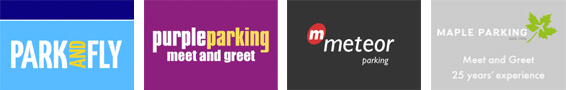 Edinburgh Airport Meet and Greet Parking Logos