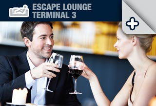 Escape Lounge at Terminal 3 Manchester Airport