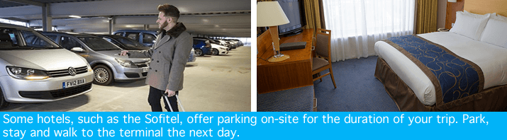 Gatwick Sofitel with parking