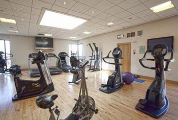 The gym at the Stormont Hotel Belfast City airport