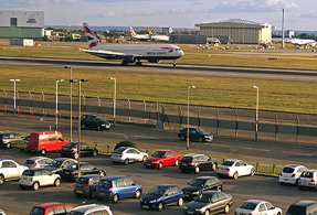 Heathrow Renaissance with on-site parking