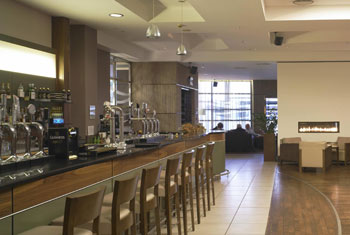 Relax in the bar at the Hilton Templepatrick