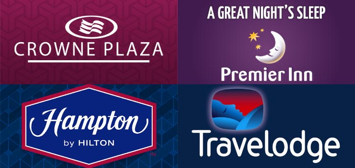 hotels near liverpool airport logo banner