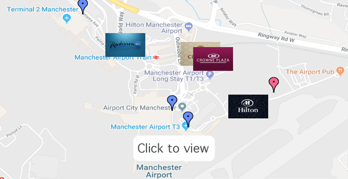Manchester Airport Hotels NEW Deals for Hotels with Parking