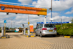 Entrance of Gatwick long stay parking