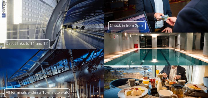 radisson blu manchester airport hotels near train station photo banner