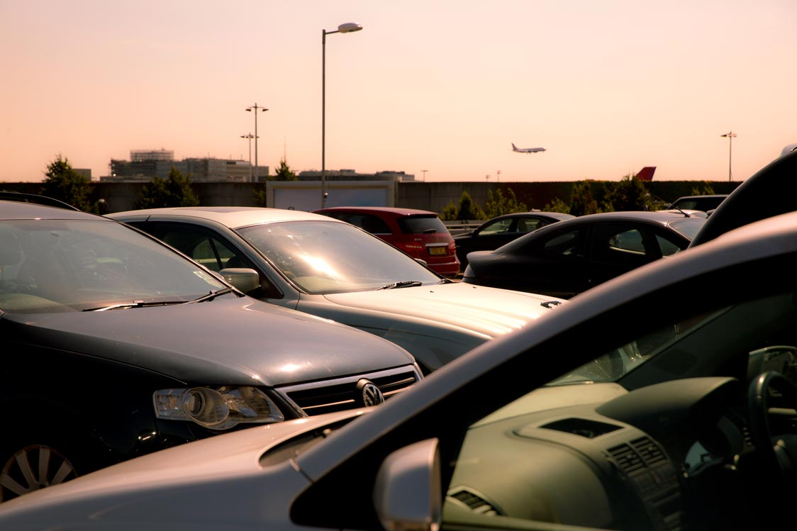 Sofitel Gatwick Parking on the roof