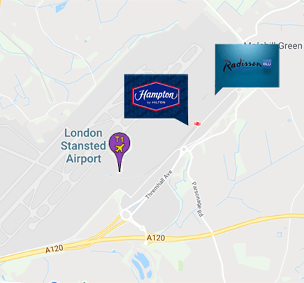 Stansted Hotels Connected to Terminals | Stay near the airport on