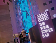 Stansted Radisson Wine Tower