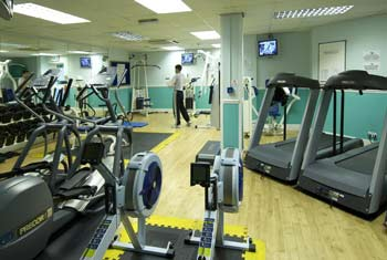 hilton stansted leisure facilities