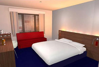Book a family room at the Travelodge Luton airport