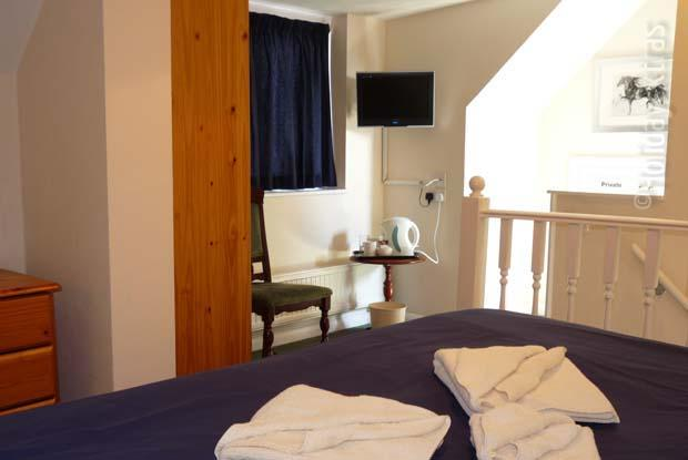 For a bit of extra luxury book the Gatwick Corner House honeymoon suite