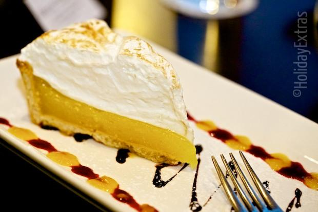 Lemon meringue at the Gatwick Courtyard by Marriott