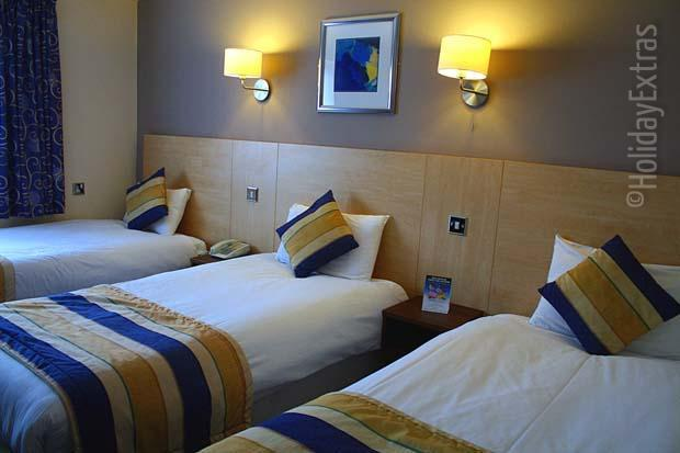 Single rooms at the Gatwick Days Hotel