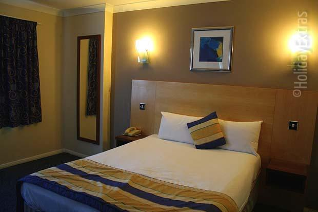 Double room at the Days Hotel Gatwick