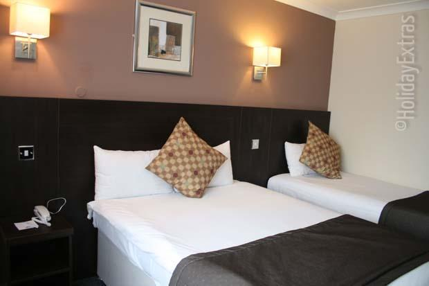 Triple room at the Gatwick Days Hotel