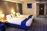 Another view of the twin bedrooms in the Gatwick Holiday Inn Express