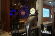 Imported beers and bitter on tap at the Gatwick Holiday Inn Express