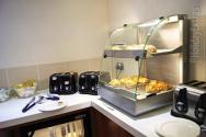 Make your own toast just how you want it at the Gatwick Holiday Inn Express breakfast buffet