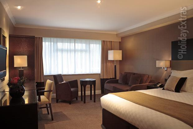 A junior suite at the Gatwick Felbridge