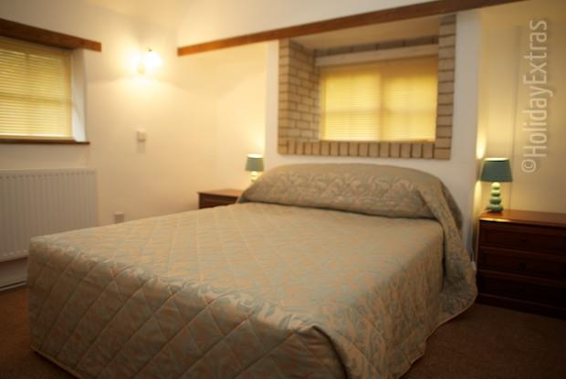 A double room at the Ifield Court