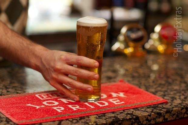 Enjoy a pint at the Ifield Court