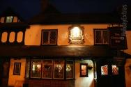The Gatwick Menzies Chequers at night