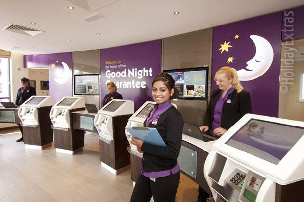 Check in at the Premier Inn London Gatwick airport