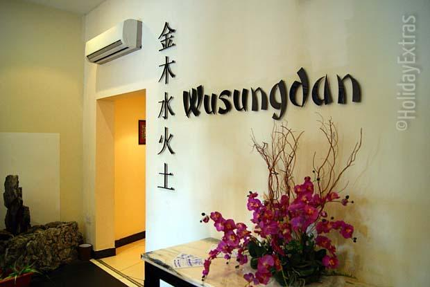 Wusungdan Restaurant at the Gatwick Ramada Crawley Hotel