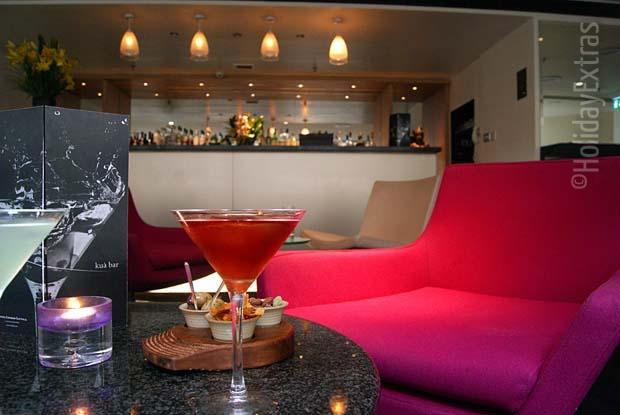 Treat yourself to a cocktail at the Sofitel Kua bar
