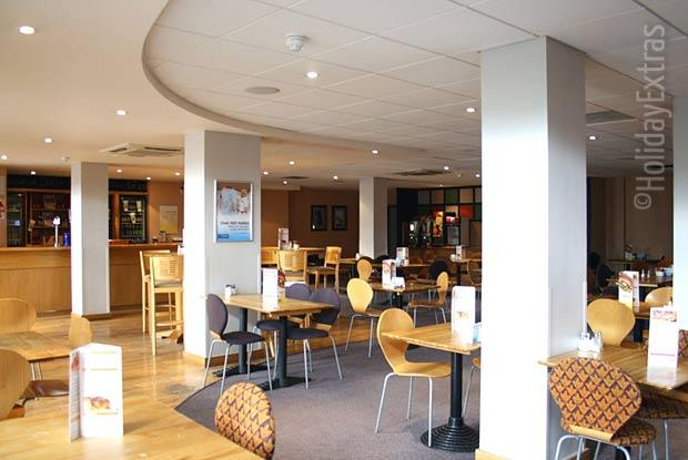 The Gatwick Travelodge restaurant and bar
