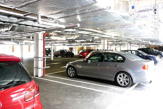 Hilton Heathrow terminal 5 car park