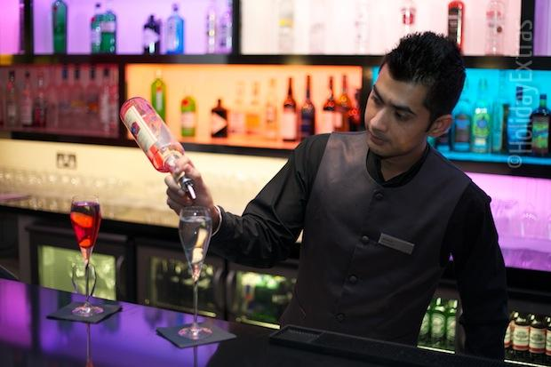 Treat yourself to a cocktail at the Hilton Heathrow terminal 5