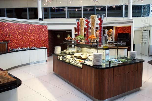 Heathrow Hilton T4 buffet