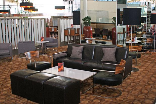 Heathrow Hilton T4 lounge