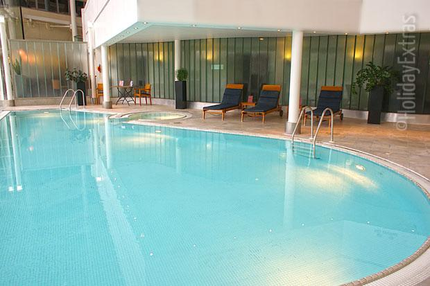 Heathrow Hilton T4 pool