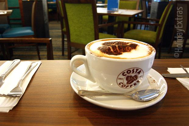 Coffee at the Holiday Inn Express Heathrow T5