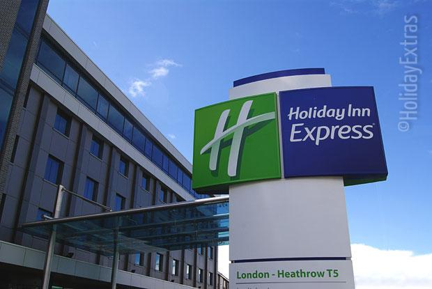 Holiday Inn Express Heathrow T5 sign