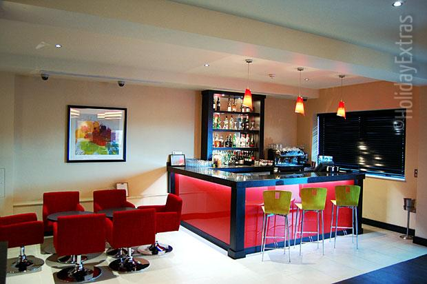 The bar at the Holiday Inn Express Heathrow T5